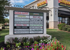 Concord Station Shopping Center: